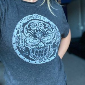 Sugar Skull T-Shirt (Gray)
